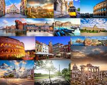欧美古典建筑风景摄影高清图片