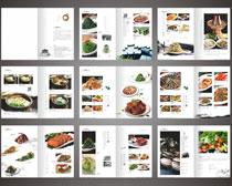 饭馆菜谱菜单设计矢量素材