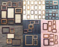 木头材料边框摄影高清图片