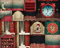 圣诞节装饰拍摄高清图片