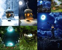 唯美的夜景拍摄高清图片
