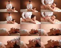 按摩理疗SPA女子摄影高清图片
