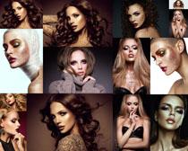 模特化妆美女拍摄高清图片