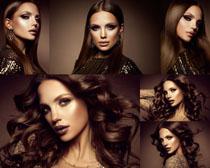 美女发型模特拍摄高清图片