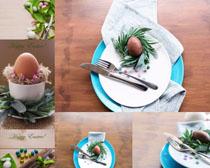 餐具展示拍摄高清图片