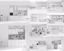 厨房家居设计效果摄影高清图片