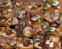牛肉面包食物摄影高清图片