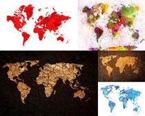 地图图形摄影高清图片