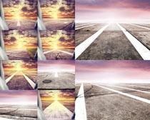 道路自然风光摄影高清图片