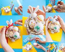 绘画艺术鸡蛋摄影高清图片