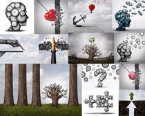 创意文化展示摄影高清图片