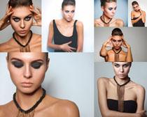 欧美模特化妆女子摄影高清图片