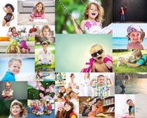 欧美快乐小孩摄影高清图片