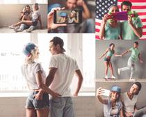 欧美时尚情侣摄影高清图片