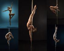 钢管舞女人摄影高清图片