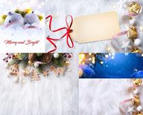 圣诞节布置背景摄影高清图片