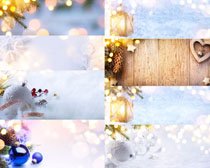 圣诞背景装饰拍摄高清图片