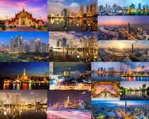 外国夜景城市摄影高清图片