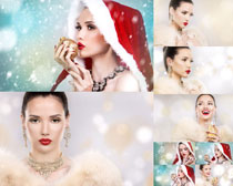 梦幻背景女性女人摄影高清图片