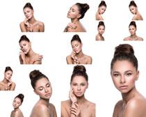 美丽肌肤女子摄影高清图片