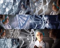 医生与分子图高清图片