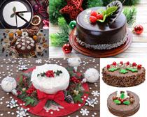圣诞节蛋糕摄影高清图片