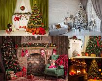 圣诞节室内装饰拍摄高清图片