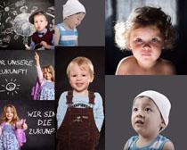 聪明的儿童摄影高清图片