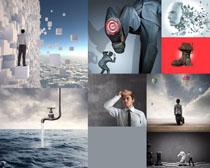 欧美创意男人拍摄高清图片