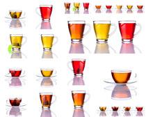茶杯展示拍摄高清图片