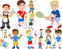 卡通儿童拍摄高清图片
