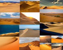 漂亮的沙漠风光摄影高清图片