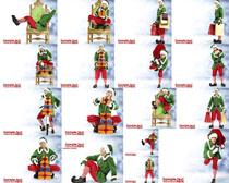圣诞人物拍摄高清图片