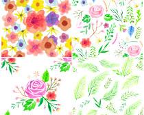 水彩鲜花笔刷