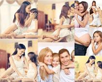 亲子家庭人物摄影高清图片