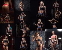 健身性感女子摄影高清图片