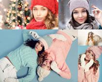 毛衣美女模特摄影高清图片