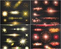 光线光晕矢量素材