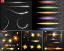 线条光效矢量素材