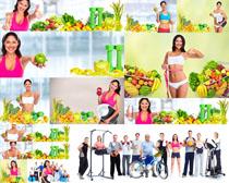 水果蔬菜瘦身人物摄影高清图片