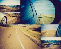 交通公路汽车拍摄高清图片