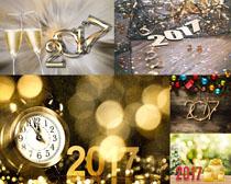 2017新年装饰与背景摄影高清图片