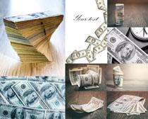 美元货币拍摄高清图片