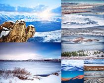 雪山风景拍摄高清图片