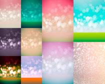 色彩星光背景拍摄高清图片