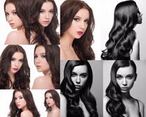 欧美时尚发型女子摄影高清图片