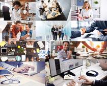 职场办公男女摄影高清图片