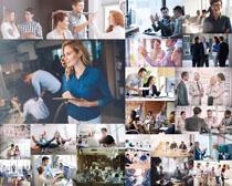办公室团队人物摄影高清图片