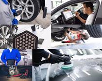 汽车保养与维修摄影高清图片