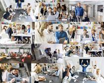 办公室职场人物摄影高清图片